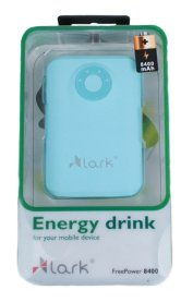 Power Bank Lark FreePower 8400 mAh NIEBIESKI